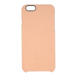 Solid Apricot Plain iPhone 6 Plus Case