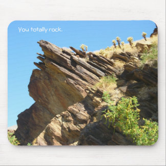 Solid as a rock_You totally rock Mouse Pad