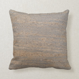 Solid Back Speckled Marble Textured Pillow
