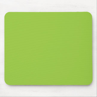 Solid Background 99CC33 Kiwi Green Mouse Pads
