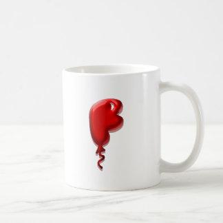 Solid Balloons Monogram Mugs