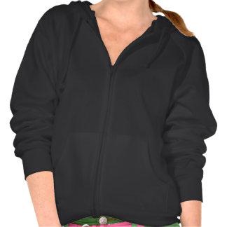 Solid Black Hooded Sweatshirt