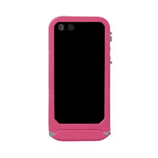 SOLID BLACK (total color coloration, dude!) ~ Incipio ATLAS ID™ iPhone 5 Case