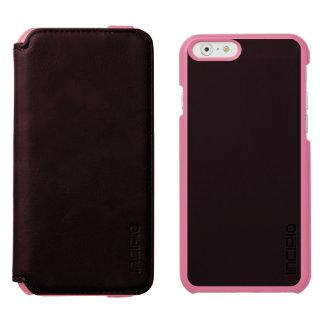 SOLID BLACK (total color coloration, dude!) ~ Incipio Watson™ iPhone 6 Wallet Case