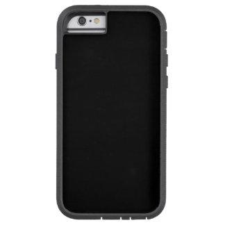 SOLID BLACK (total color coloration, dude!) ~ Tough Xtreme iPhone 6 Case