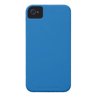 Solid Blue iPhone 4 Cover