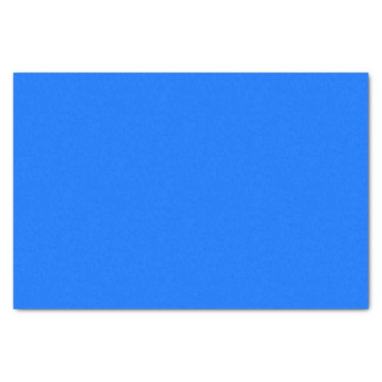 solid BLUE Tissue Paper
