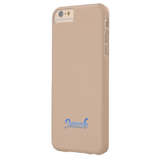 Solid brown iPhone 6 plus case for Jacob