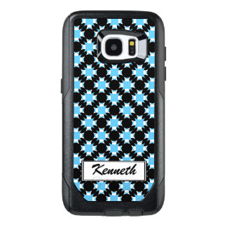 Solid Circle Cross by Kenneth Yoncich OtterBox Samsung Galaxy S7 Edge Case