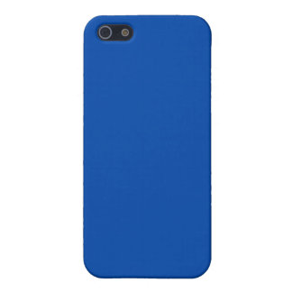 Solid Cobalt Blue Cases For iPhone 5