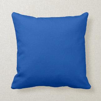 Solid Cobalt Blue Throw Pillows Cushion