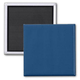 Solid Color 003366 Dark Blue Background Template Refrigerator Magnets