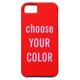 Solid Color Background Template iPhone 5 Cases