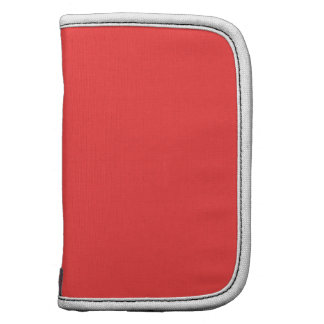 Solid Color Coral Red Planners
