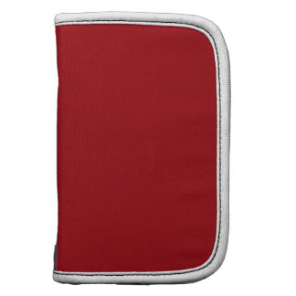 Solid Color Cranberry Red Organizer