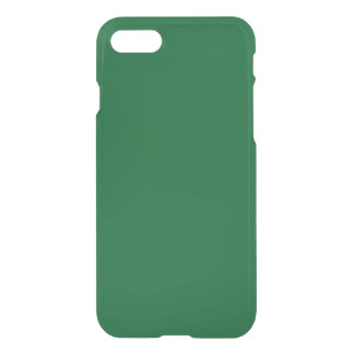 Solid Color: Forest Green iPhone 7 Case