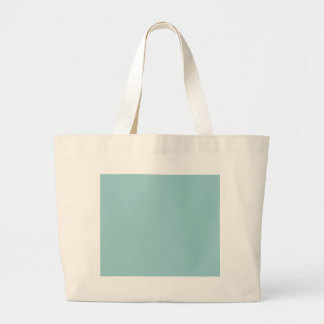 Solid Color Light Blue 99CCCC Background Bags