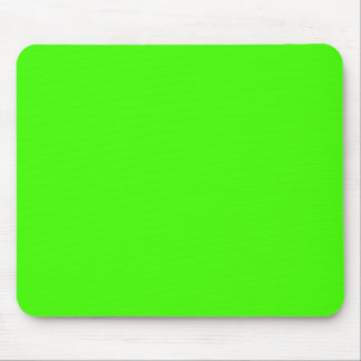 Solid Color: Lime Green Mouse Pads