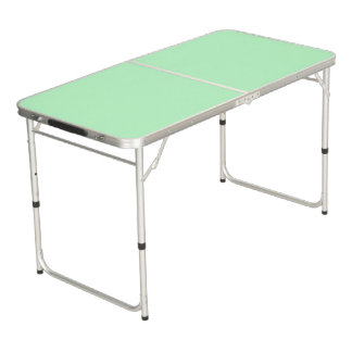 Solid Color: Mint Beer Pong Table