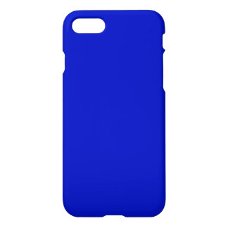 Solid Color: Royal Blue iPhone 8/7 Case