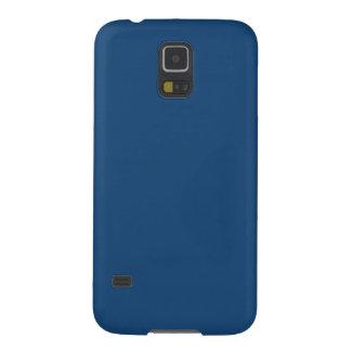 Solid Color Samsung Galaxy S5 Case in Monaco Blue