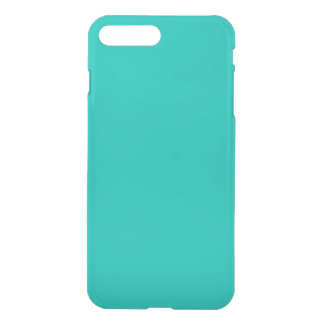 Solid Color: Teal iPhone 8 Plus/7 Plus Case