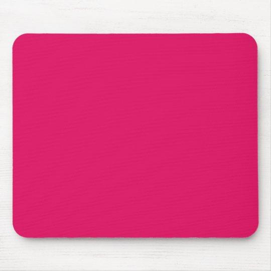 solid colour raspberry mouse mat