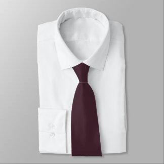 Solid Dark Raspberry Satin Tie