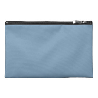 Solid Dusk Blue Travel Accessory Bags