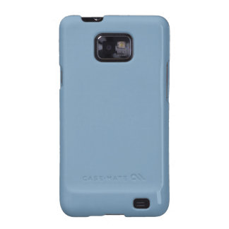 Solid Dusk Blue Galaxy S2 Covers