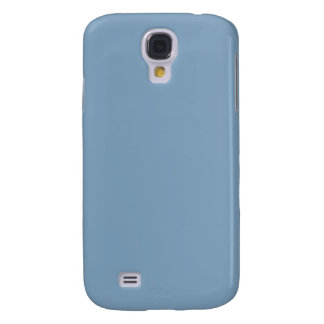 Solid Dusk Blue Galaxy S4 Cases