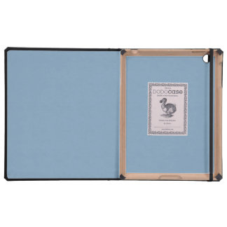 Solid Dusk Blue iPad Cover
