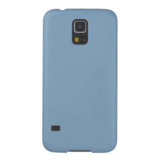 Solid Dusk Blue Galaxy S5 Cases