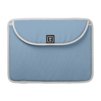 Solid Dusk Blue Sleeve For MacBooks