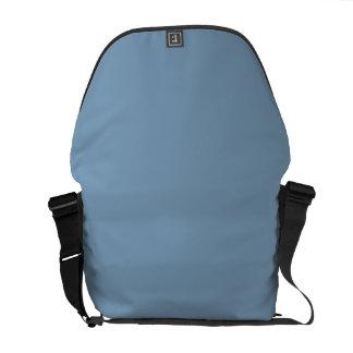 Solid Dusk Blue Messenger Bags