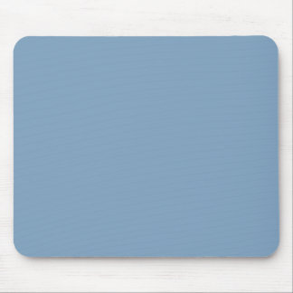 Solid Dusk Blue Mouse Pad