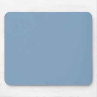 Solid Dusk Blue Mousepads