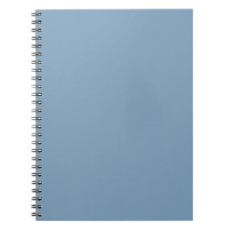 Solid Dusk Blue Notepad Spiral Note Books