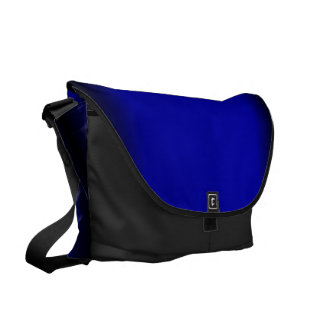 Solid Electric Blue Commuter Bags