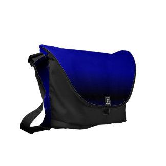 Solid Electric Blue Messenger Bag
