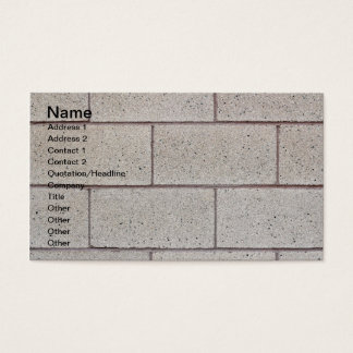Solid Foundation Business Card