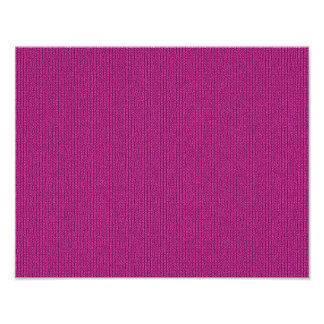 Solid Fuchsia Knit Stockinette Stitch Pattern Art Photo