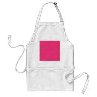 SOLID HOT PINK BACKGROUND TEMPLATE TEXTURE WALLPAP ADULT APRON