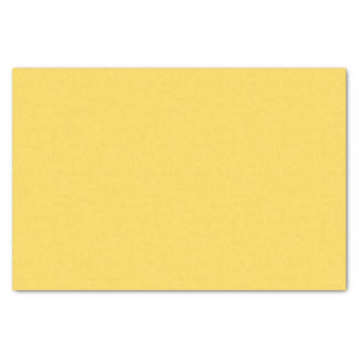 Solid Mustard Yellow / Gold Tissue Paper