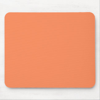Solid Nectarine Orange Mouse Mat