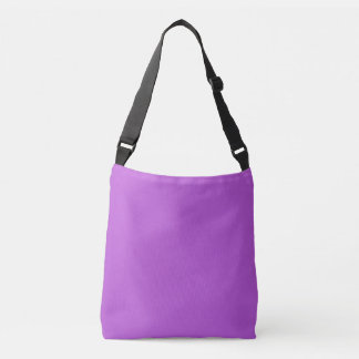 Solid Orchid Crossbody Bag