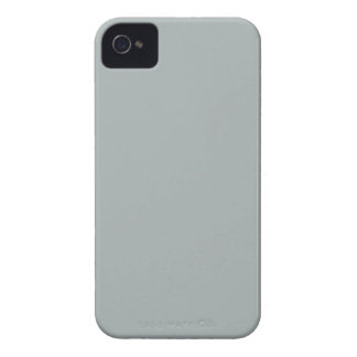 Solid Paloma Gray iPhone 4 Case