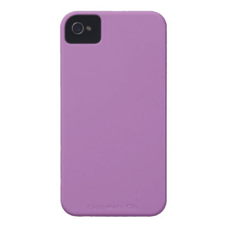 Solid Purple iPhone 4 Case-Mate Case