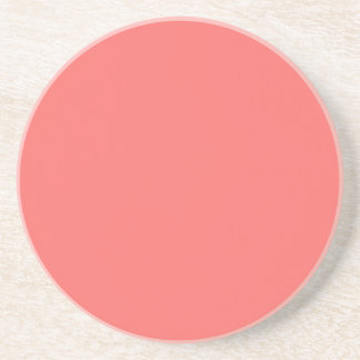 Solid Series---Almon Pink coaster