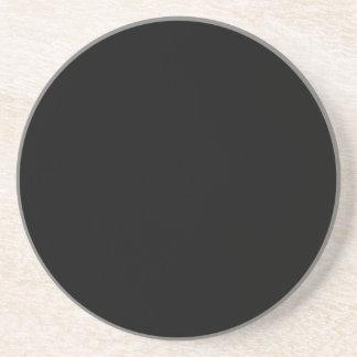 Solid Series---Black coaster